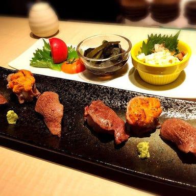 肉寿司 イタリアンバル 閂 心斎橋店 こだわりの画像