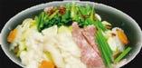 特選カルビ入りもつ鍋でダブルで楽しめて美味しい!