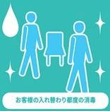 ◆アルコール消毒の徹底