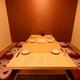 掘り炬燵完備完全個室は3部屋ご用意 一部屋6名様まで対応