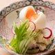 柚子胡椒がアクセント 半熟卵のポテトサラダ
