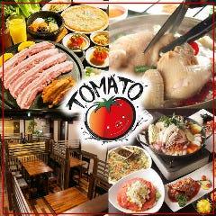 新大久保 生サムギョプサル専門店 トマト