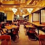【テーブル席】落ち着いたレストランスペース(~40名様)