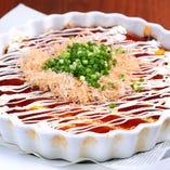 山芋のお好み焼きスタイル
