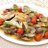 魚介を使った料理も◎