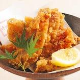 【香り岩塩】鶏の唐揚げ