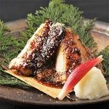 鶏モモ肉の胡麻ダレ焼き