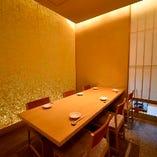 各種宴会に最適なテーブル席個室(~8名様×3部屋)