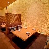 上質な空間で食事をお楽しみください