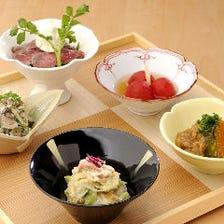 熟練の匠の技が光る繊細な京料理