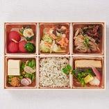 おばん菜と【魚】の御馳走弁当