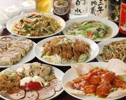 中華食べ放題 順順餃子房 小伝馬町店  コースの画像