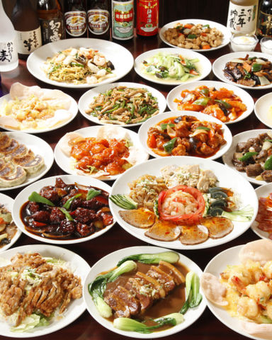 中華食べ放題 順順餃子房 小伝馬町店  こだわりの画像