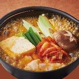 本格キムチ鍋