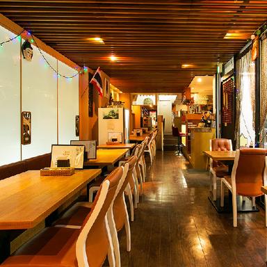 アジアンダイニング&Bar Sathi 代官山店 店内の画像