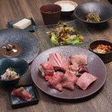 『琉球の牛』スペシャルディナーセット お肉8点盛り(10皿)