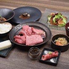 『琉球の牛』スペシャルディナーセット 焼肉7種盛り(10皿)