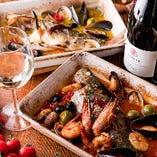 【新鮮魚介】 豊洲直送鮮魚を使った逸品をお楽しみください