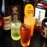 飲み放題は全13種類のドリンクが楽しめます!
