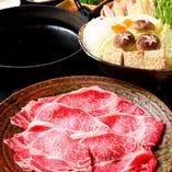 【食べ放題/黒毛和牛】『すき焼き食べ放題コース』
