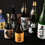 日本酒や焼酎も取り揃えております。