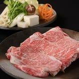 上質なお肉も新鮮なお野菜もたっぷりとお召し上がりください。