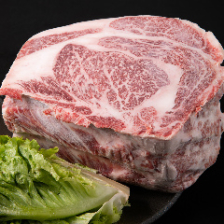 A4ランク以上!塊肉をお店でスライス