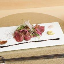 新しい肉割烹スタイルで上質な逸品を