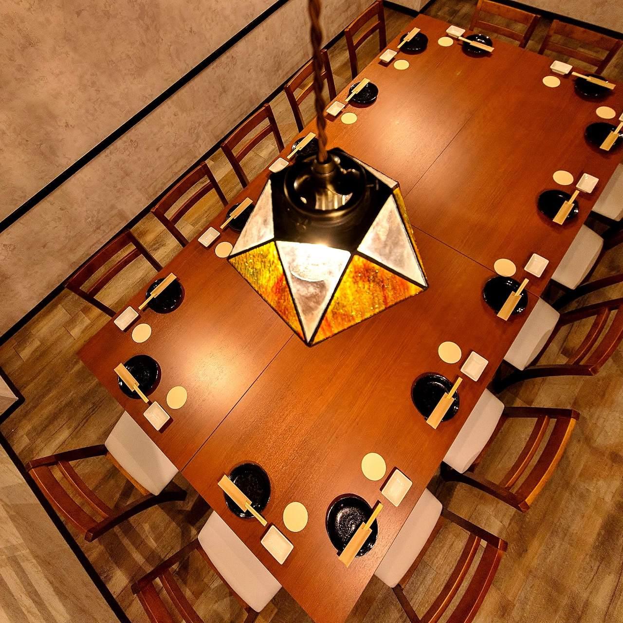 宴会に最適な全席完全個室!最大60名