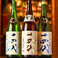 宮城や全国、プレミアの日本酒も◎