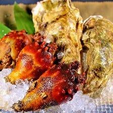 三陸の「牡蠣」「ほや」「海鮮」
