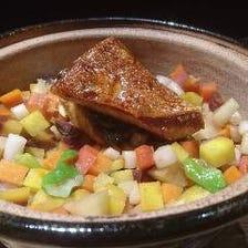 《おまかせコース》産地から届く野菜や魚を中心とした旬のお料理をご堪能いただけるコース