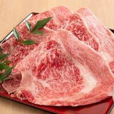 最高傑作の国産和牛の最高級焼肉