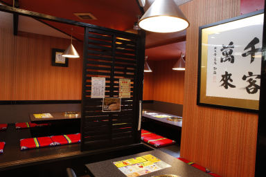 肉匠 迎賓館 田原本店 店内の画像