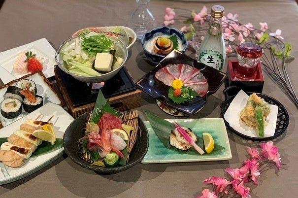 安心の個食盛り『柏の宴』 飲み放題付7,000円(税込)