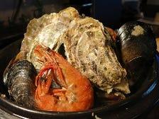 牡蠣の土鍋蒸し