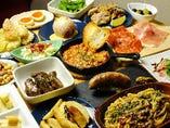 色々食べれる小皿料理(^^)