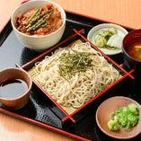 ミニスタミナ丼&蕎麦セット