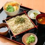 ミニ天丼&蕎麦セット