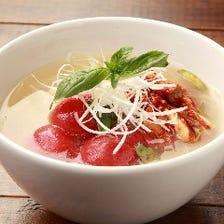 自家製トマト冷麺