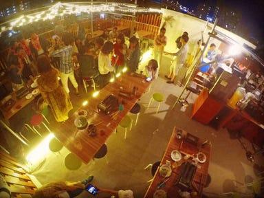 南国ビアガーデン×海鮮BBQ ISHIKI GARDEN 店内の画像