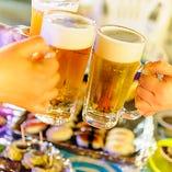 バカンスムード満点!光るビールが楽しめる!【愛知県】