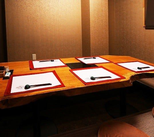 テーブル席・完全個室(壁・扉あり)・2名様~20名様