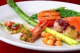 どのお料理もヴェネチアで昔から受け継がれているレシピ通りのお味