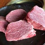 黒毛和牛を中心に、厳しい目利きによって仕入れた極上肉を堪能♪