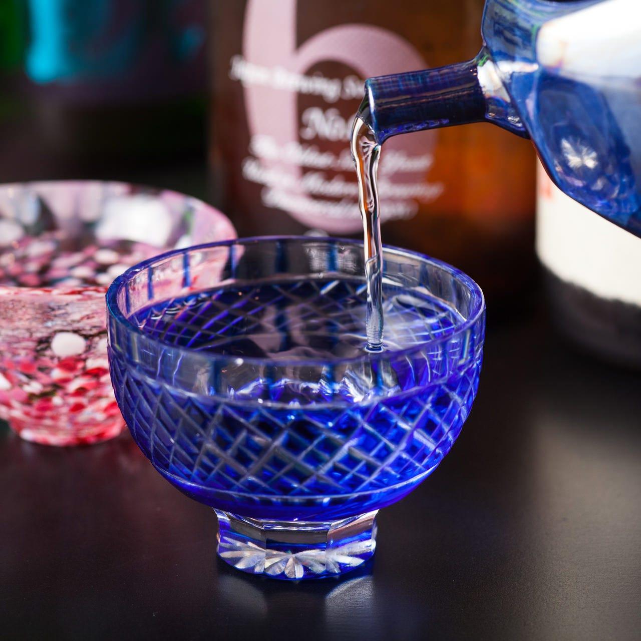佐賀の地酒が味わえる飲み放題付コースもお愉しみいただけます