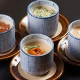 10種類と多彩にご用意した『茶碗蒸し』は選べる楽しさも満喫
