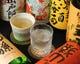 焼酎や日本酒も多数揃っています