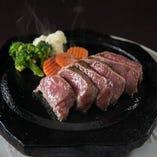 F.和牛ランプ石焼きステーキ