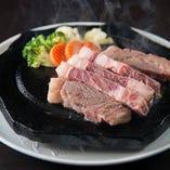 G.石垣牛石焼ステーキ